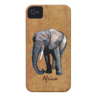African Baby Elephant III Cell Phone Case