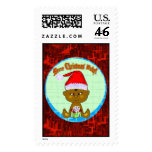 African Baby Holiday Postage