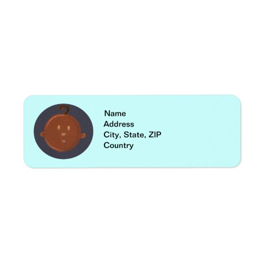 African Baby Return Labels