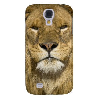 African Barbary Lion, Panthera leo leo, one of Galaxy S4 Cover