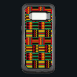 "African Basket Weave Pride Red Yellow Green Black OtterBox Commuter Samsung Galaxy S8 Case<br><div class=""desc"">Enjoy this modern basketweave tribal pattern in African colors of red,  green,  yellow and black. Drawn from traditional kente cloth patterns and color of the flag of Africa,  this updated version adds style to your phone!</div>"