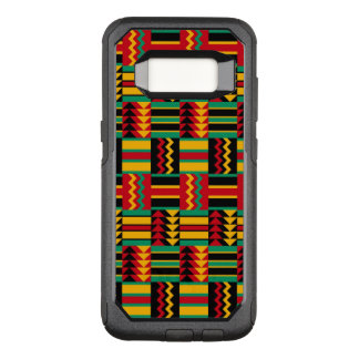 African Basket Weave Pride Red Yellow Green Black OtterBox Commuter Samsung Galaxy S8 Case