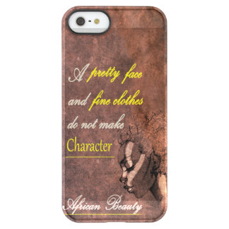 African beauty  iPhone Permafrost® Deflect Case