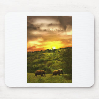 African Beauty Mouse Pad
