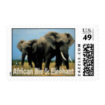African Big Five: Elephant Stamps