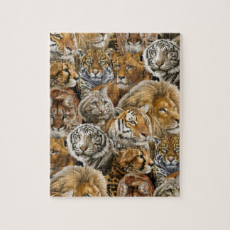 African Bigcats Jigsaw Puzzle