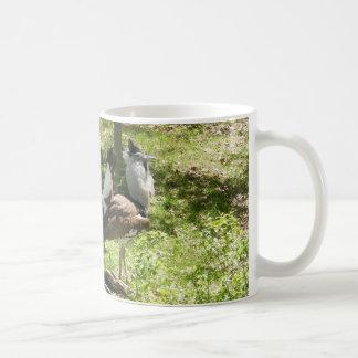 African Birds: Kori Bustard Coffee Mug