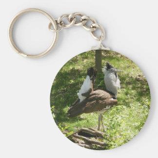 African Birds: Kori Bustard Keychain