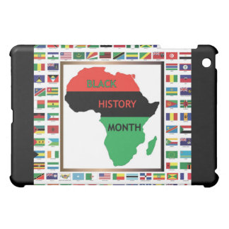 African & Black Flags Case For The iPad Mini