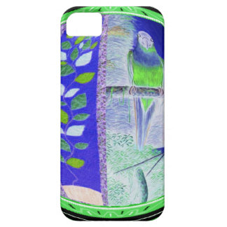 African blue and green parrot iPhone SE/5/5s case