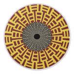 African Boho Collection - Golden Gate Ceramic Knob