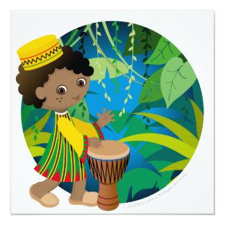 African boy card