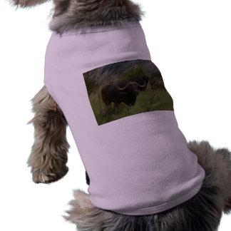 African Buffalo Doggie T Shirt