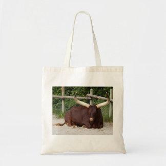 African Bull Tote Bag
