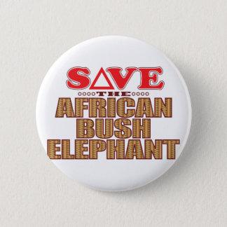 African Bush Elephant Save Button
