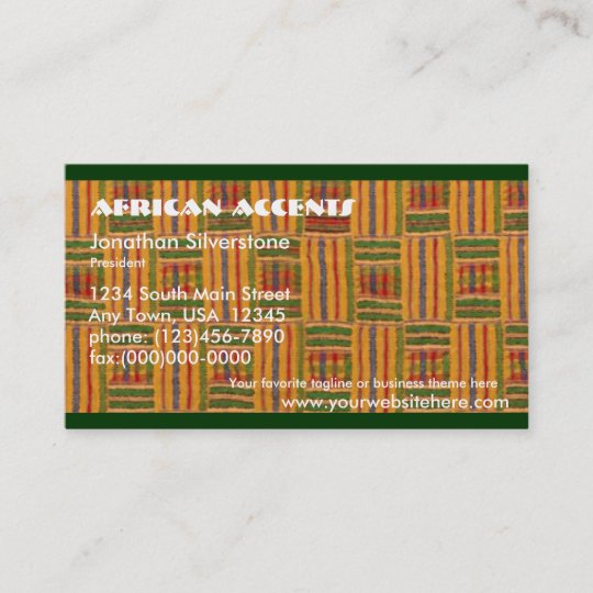 African business cards zazzle african business cards colourmoves