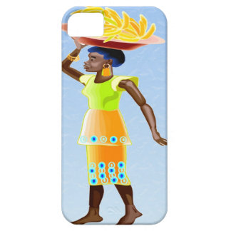 African carrying bananas iPhone SE/5/5s case