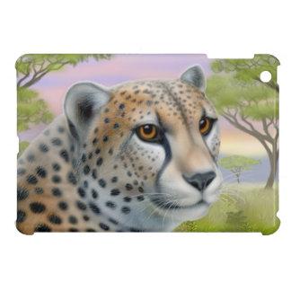 African Cheetah Cat in Savannah iPad Mini Case