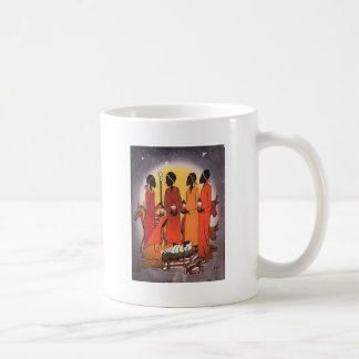 African Christmas Nativity Scene Coffee Mug