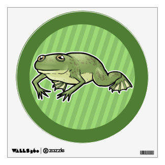 African Clawed Frog Wall Decal