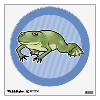 African Clawed Frog Wall Sticker