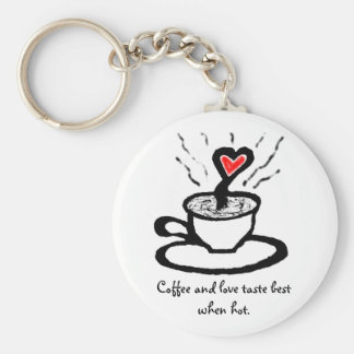African Coffee Love Quote_Valentine Gift Key Chain