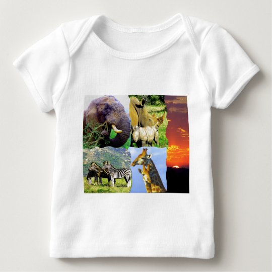 African Collage Baby T-Shirt