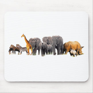 African Collage III Mouse Pad