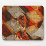 African colors mouse mat