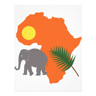 African Continent Letterhead