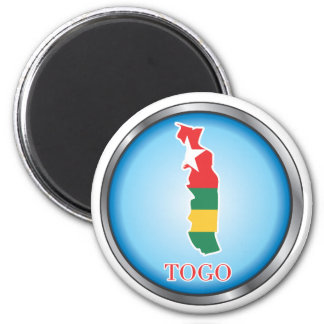 African country buttons refrigerator magnet