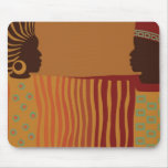 African Couple Mouspad Mouse Pad