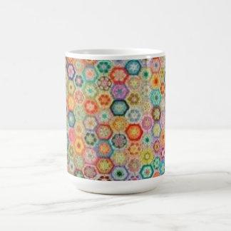 African Crochet Mug
