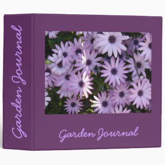 "African Daisies Garden Journal - Avery 2"" Binder"