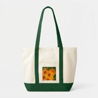 African Daisies Tote Bag
