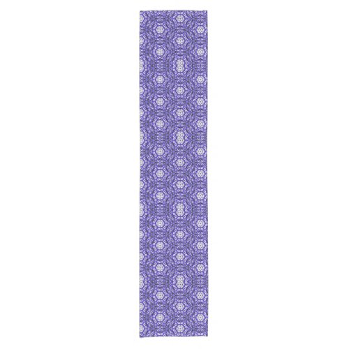 African Daisy Abstract Table Runner