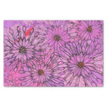 African Daisy Cape Daisies Pink Flowers Floral Art Tissue Paper
