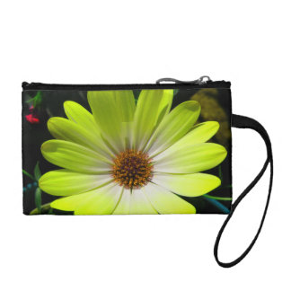 African Daisy Fluorescent Yellow Bagettes Bag
