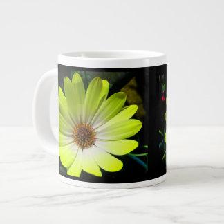 African Daisy Fluorescent Yellow Mug