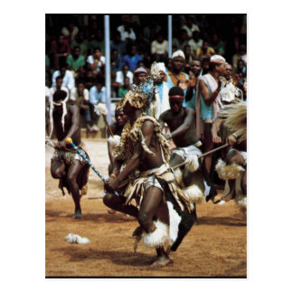African dance South Africans Postcard