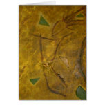 African Dancer Note Card