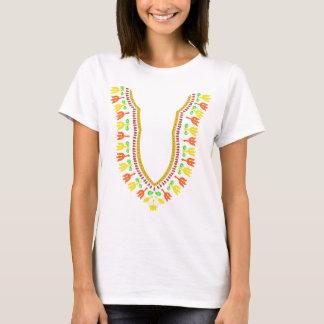 African Dashiki Boubou Necklace - Warm T-Shirt