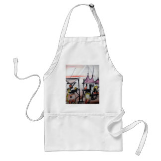 African Decor and Wear Apron