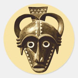 African Design #11 @ Stylnic Classic Round Sticker
