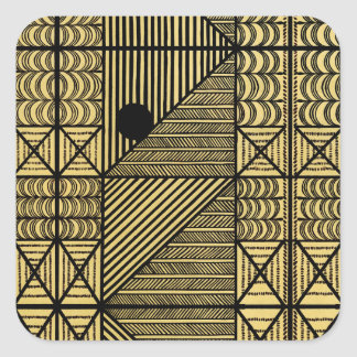 African Design #12 @ Stylnic Square Sticker