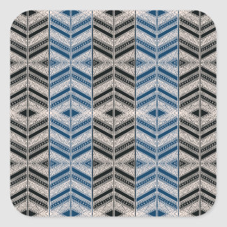 African Design #8 @ Stylnic Square Sticker
