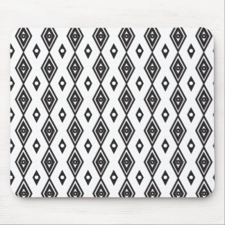 African diamond  tribal design pattern mouse pad