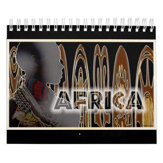 African Digital Art Calendar 2016
