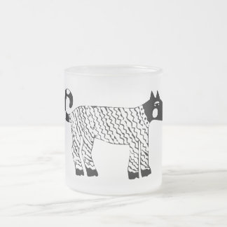 African Dog Frosted Mug