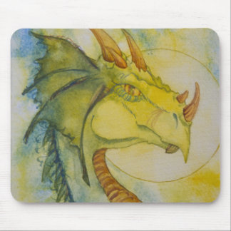 African Dragon Mouse Pad